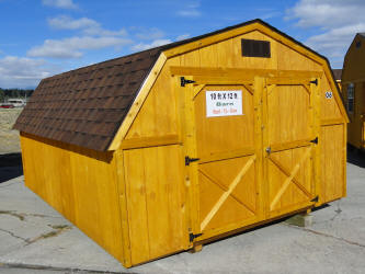 Old Hickory Sheds 10x12 Comp Roof