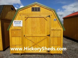 Old Hickory Sheds 8x12 Barn