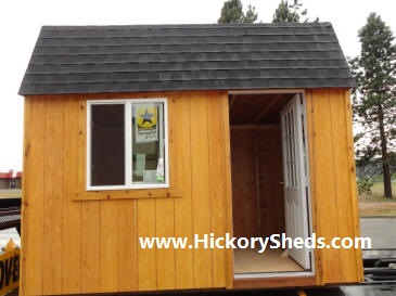 Old Hickory Sheds 8x12 Lofted Barn Cabin