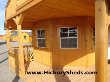 Old Hickory Sheds Deluxe Porch Idhao