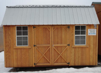 Old Hickory Sheds 10x16  Side Lofted Barn