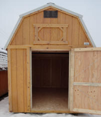 Old Hickory Sheds 8x12 Lofted Barn