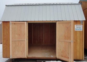 Old Hickory Sheds 8x12  Side Lofted Barn
