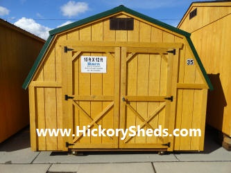Old Hickory Sheds 10x12 Barn