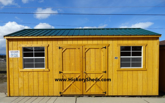 Old Hickory Sheds 10x20 Side Utility