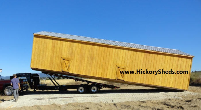 Old Hickory Sheds 14x40 Utility