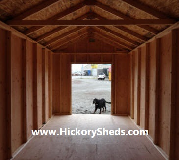 Old Hickory Sheds 10x20 Utility and Mr Gus